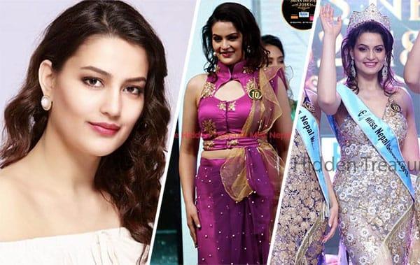 Miss Nepal 2018 - Manita Devkota