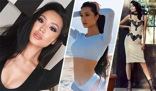 Miss Quirguistão 2018 - Begimay Karybekova
