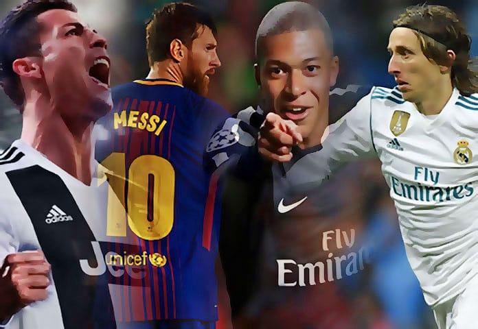 Os Melhores Jogadores do Mundo em 2018 - FIFA The Best e Bola de ... 70b792a7d8a52