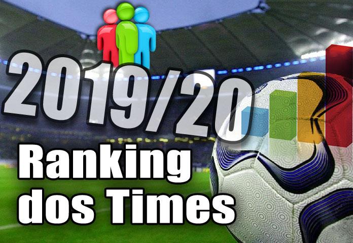 Melhores times do Brasil e do mundo 2019 e 2020