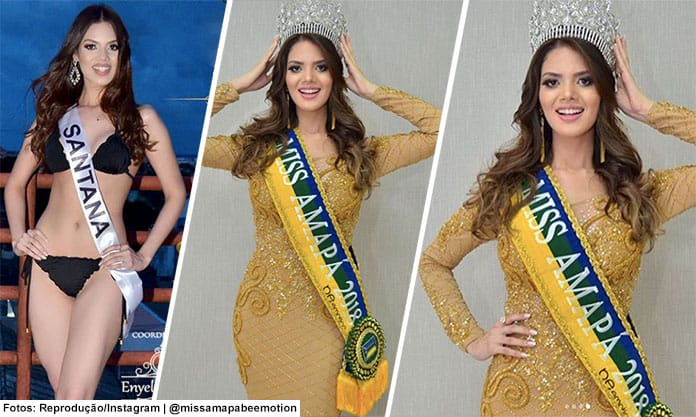 Miss Amapá 2018 - Williene Lima