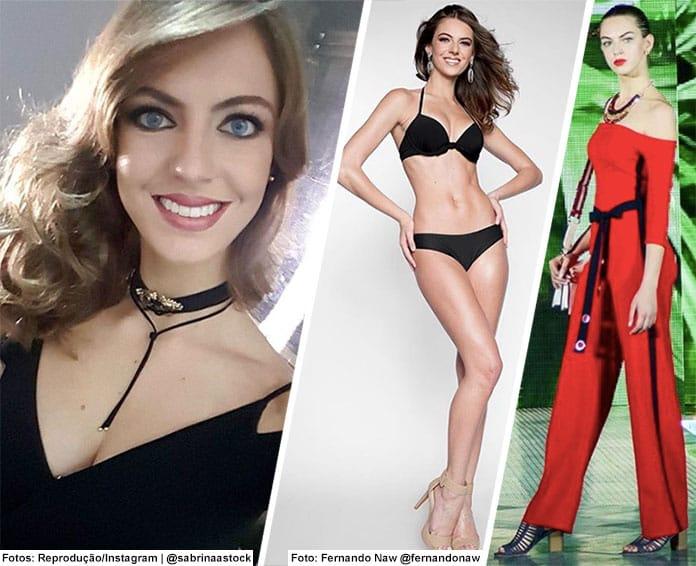 Miss Espírito Santo 2018 - Sabrina Stock