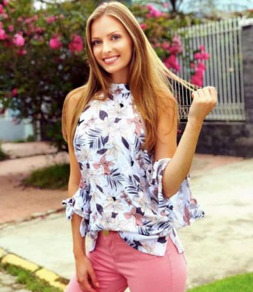 Resultado de imagem para miss santa catarina 2018 patricia marafon