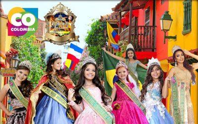 Brasileiras disputam Concurso Miss das Américas Internacional em Cartagena de Índias
