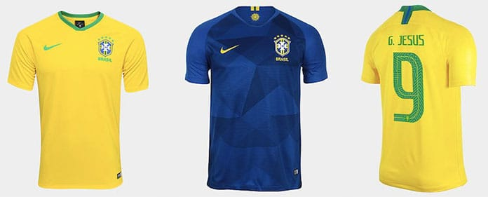 d9e2e20897 Do Azul e Branco ao Ouro Samba  A evolução da camisa da Seleção