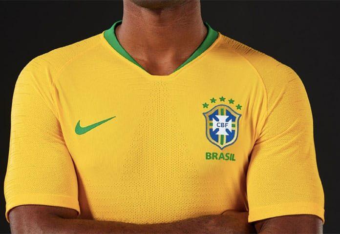 Nova camisa da Seleção Brasileira