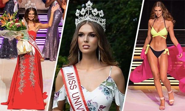 Miss Canadá 2018 - Marta Madgalena Stepien