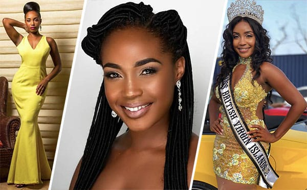 Miss Ilhas Virgens Britânicas 2018 - A'yana Phillips