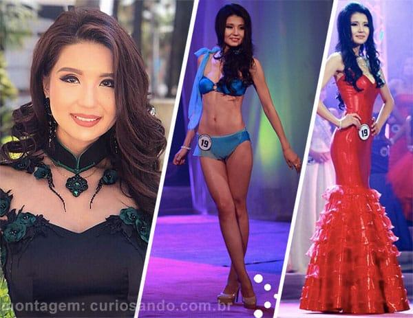 Miss Mongólia 2018 - Dolgion Delgerjav