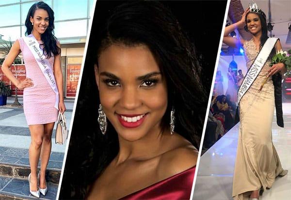 Miss Namíbia 2018 - Selma Kamanya