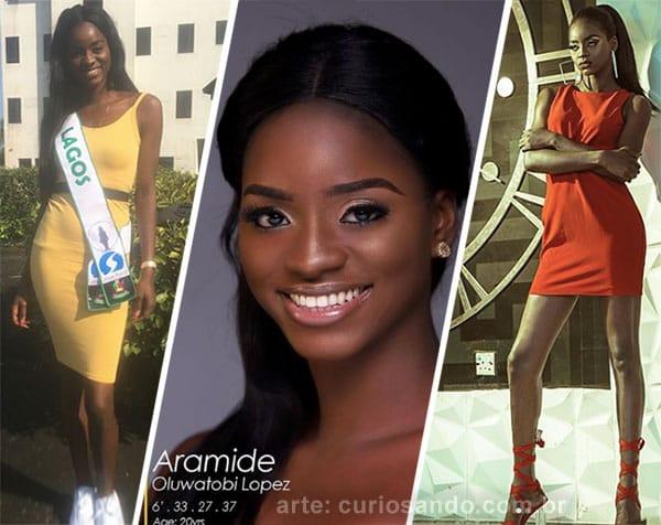 Miss Nigéria 2018 - Aramide Lopez