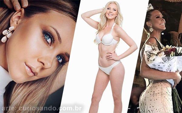 Miss Suécia 2018 - Emma Strandberg