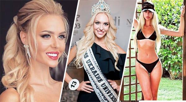 Miss Ucrânia 2018 - Karina Zhosan