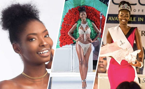 Miss Zâmbia 2018 - Melba Shakabozha