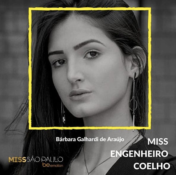 Miss Engenheiro Coelho - Bárbara Galhardi de Araújo