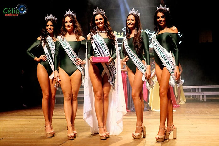 Top 5 Miss Paraná Latina 2019