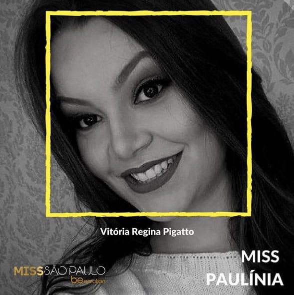 Miss Paulinia - Vitória Regina Pigatto