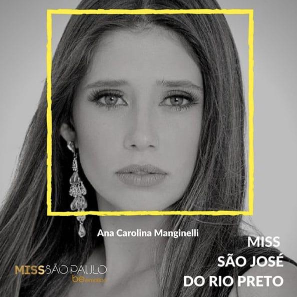 Miss São José do Rio Preto - Ana Carolina Manginelli