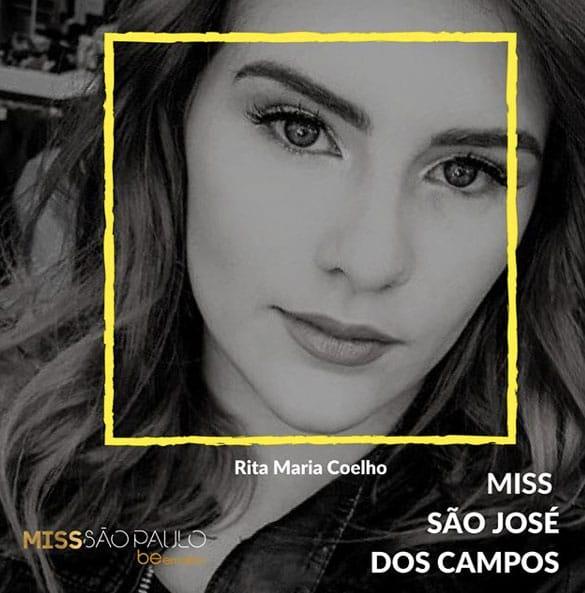 Miss São José dos Campos - Rita Maria Coelho