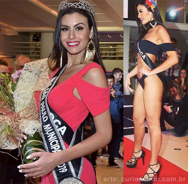 Miss São Paulo Municipal - Marjorie Marcelle