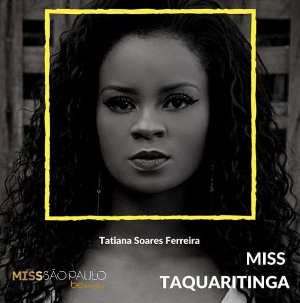 Miss Taquaritinga - Tatiana Soares Ferreira