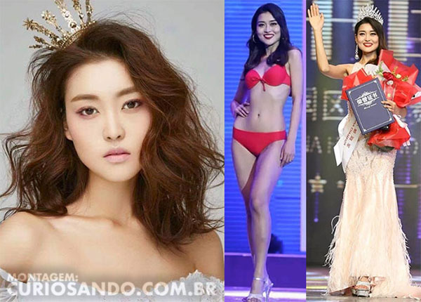 Miss China 2019 - Rosie Xin Zhu