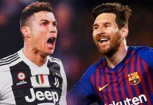 Cristiano Ronaldo e Messi melhores do mundo