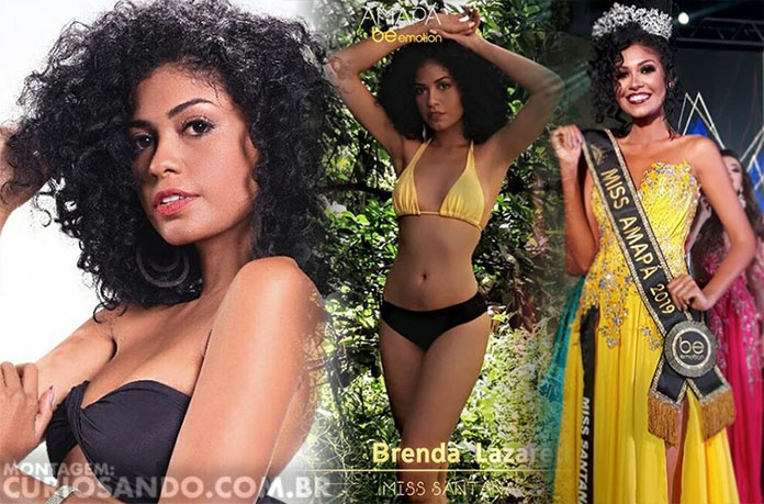 Miss Amapá 2019 - Brenda Lazareth