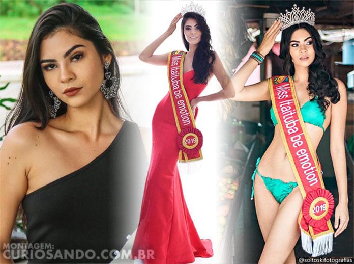 Miss Pará 2019 - Wilma Paulino