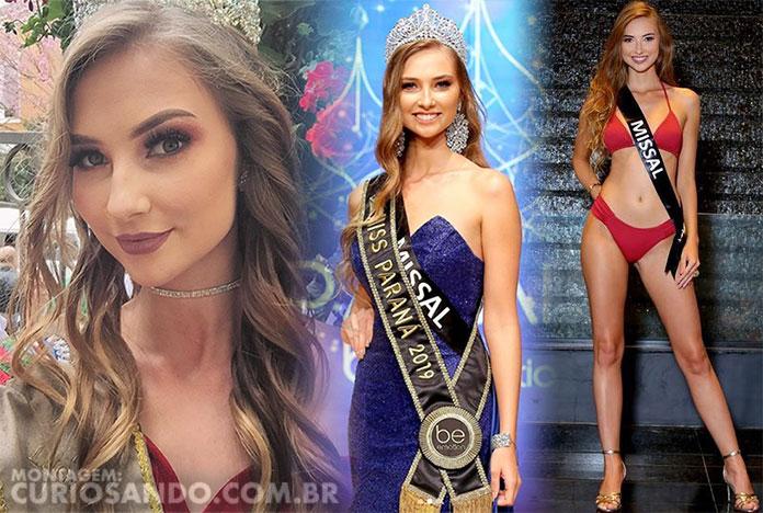 Miss Paraná 2019 - Djenifer Frey