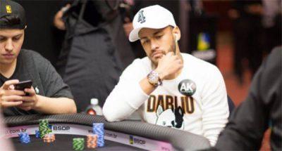 Os 5 jogadores de futebol que mais se destacam no poker
