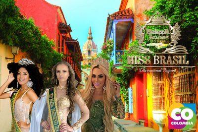 Brasileiras disputam concurso Miss Américas Internacional em Cartagena de Índias