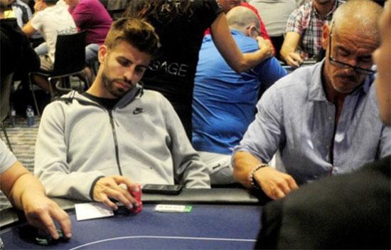 Jogadores de futebol que se destacam no poker