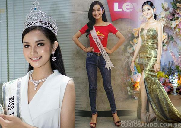 Miss Camboja 2019 - Somnang Alyna