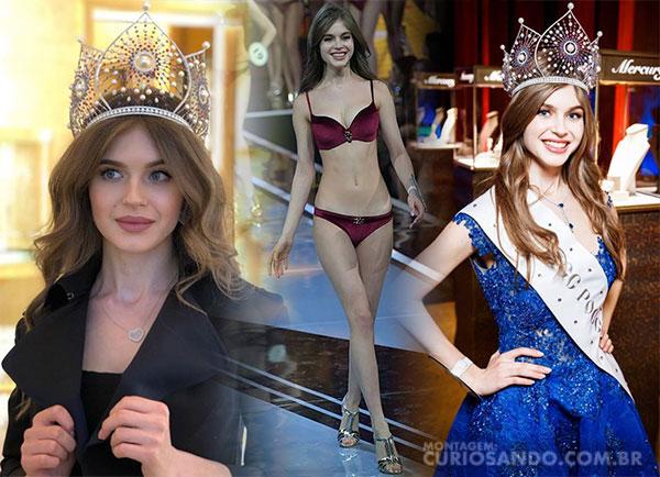 Miss Rússia 2019 - Alina Sanko
