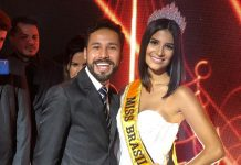 Miss Brasil BE Emotion Júlia Horta e Paulo Filho