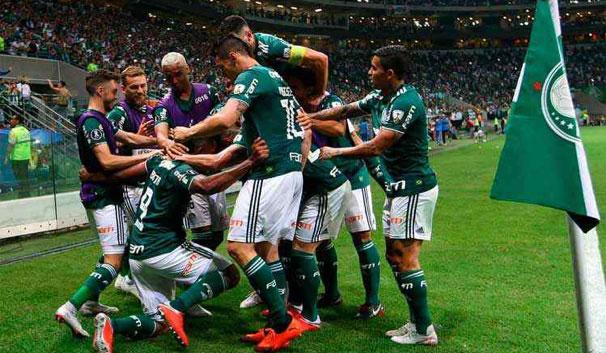 Foto do Palmeiras Campeão Brasileiro de 2018