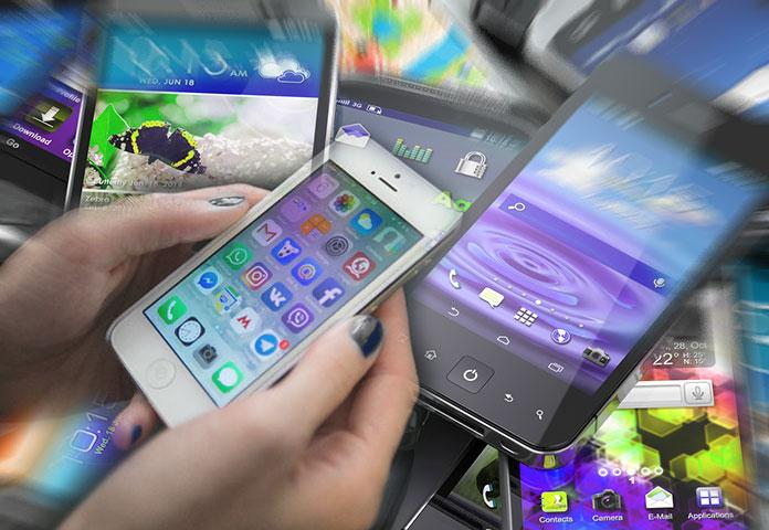 Smartphones velhos