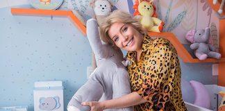 Luiza Possi aposta na tendência Amiguinhos Safári para quarto de Lucca