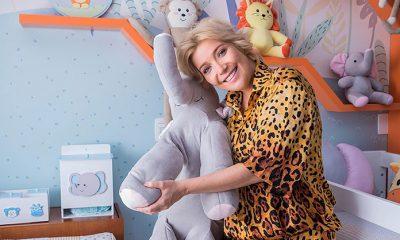 Luiza Possi aposta na tendência Amiguinhos Safári para quarto do filho Lucca