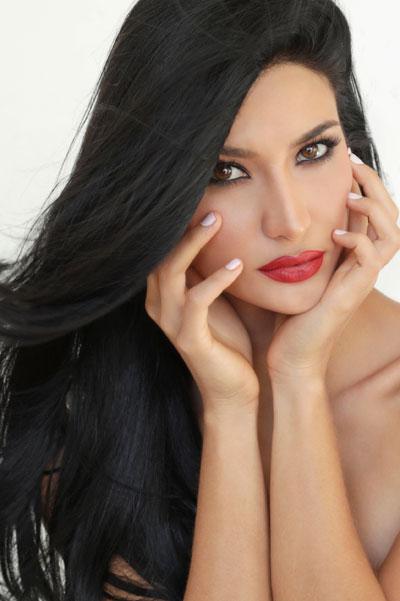Foto da Miss Aruba - Danna García