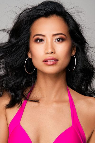 Foto da Miss Bélgica - Angeline Flor Pua