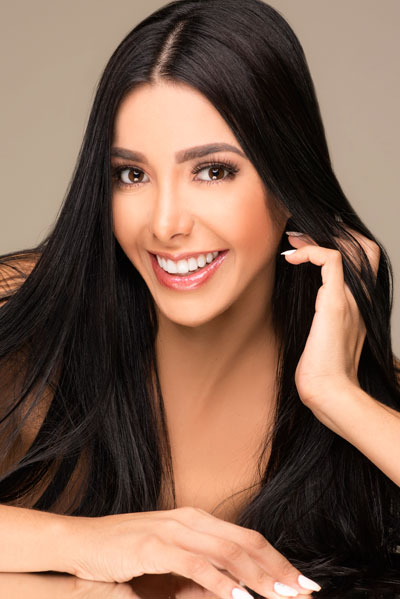 Foto da Miss Bolívia - Fabiana Hurtado