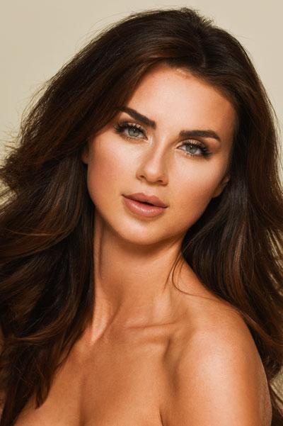 Foto da Miss Canadá - Alyssa Boston