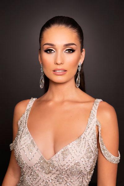 Foto da Miss Dinamarca - Katja Stokholm