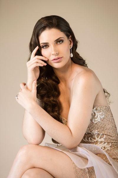 Foto da Miss Equador - Cristina Hidalgo