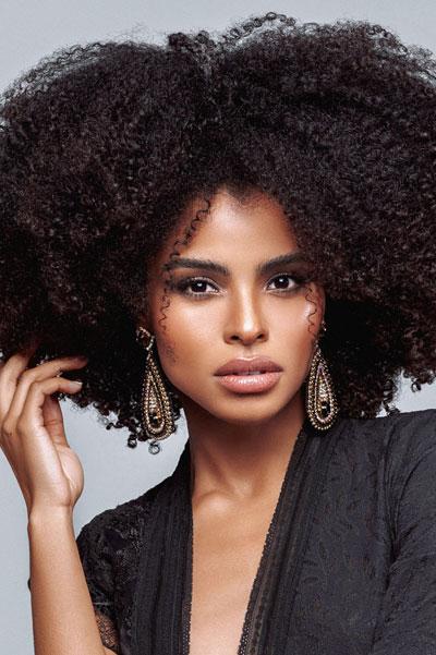 Foto da Miss Haiti - Gabriela Vallejo