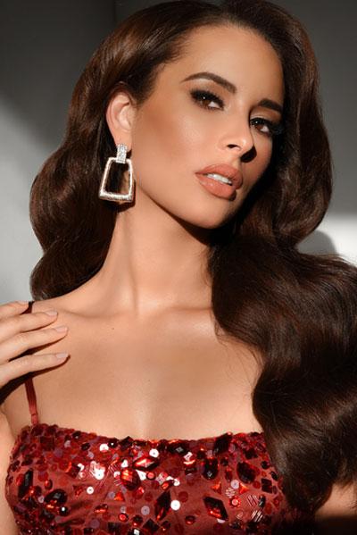 Foto da Miss Ilhas Virgens Americanas - Andrea Piecuch