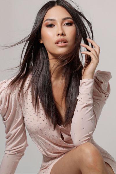 Foto da Miss Indonésia - Frederika Cull