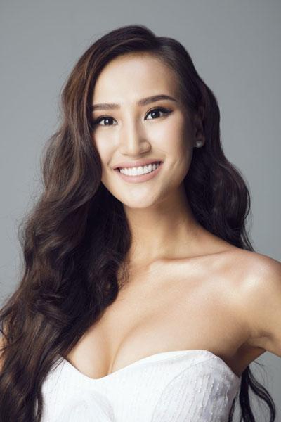 Foto da Miss Mongólia - Gunzaya Bat-Erdene